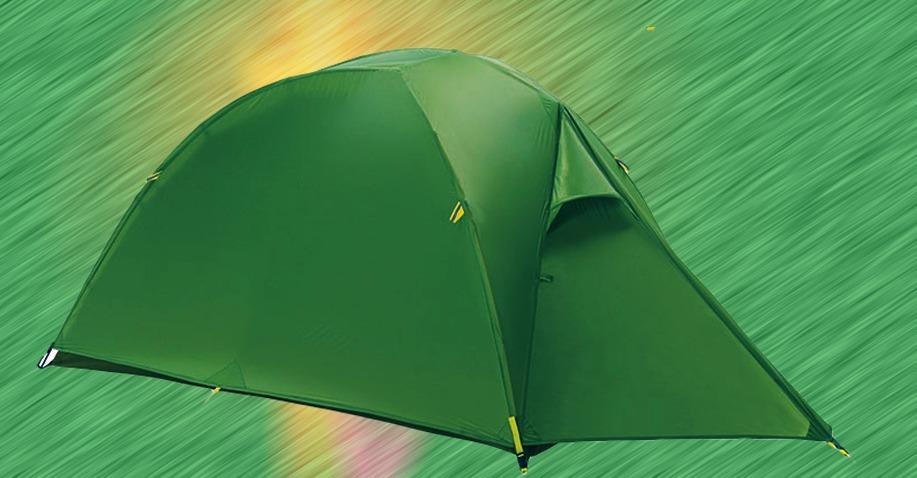 ソロキャンプ用のテントを探す 夏フェスの準備に